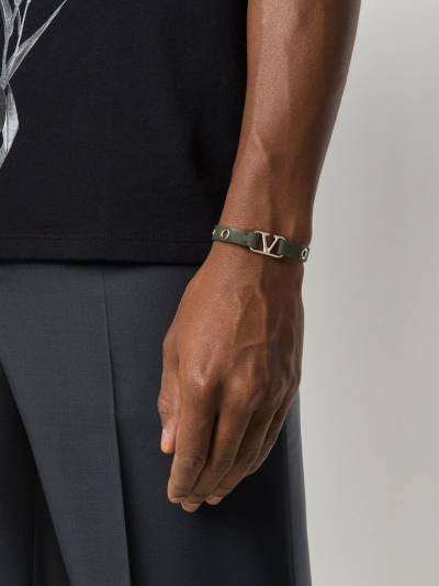 Valentino Garavani браслет с логотипом VLogo UY0J0N36ADY - 2