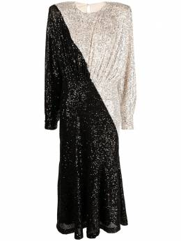 Rotate длинное платье Billie с пайетками RT024