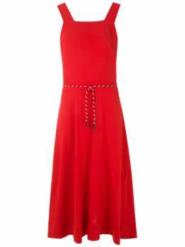 Osklen однотонное платье миди 60134