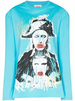 Charles Jeffrey Loverboy толстовка Pout с принтом CJLPS21GLST
