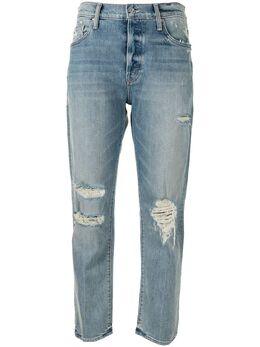 Mother джинсы The Scrapper Ankle с завышенной талией 10026259