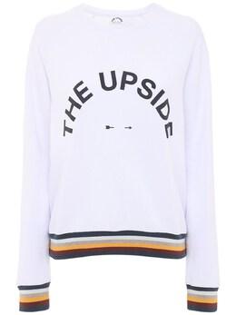 Свитшот С Логотипом The Upside 73IE7X017-V0hJVEU1