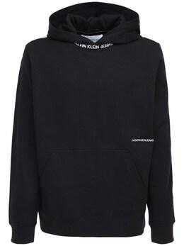 Свитшот С Капюшоном И Принтом Логотипа Calvin Klein Jeans 72IJSG021-QkFF0