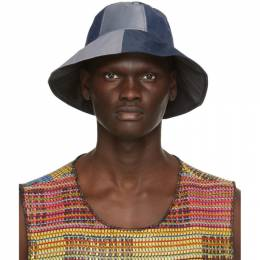Bethany Williams Multicolor Recycled Tent Hat BWAW20045