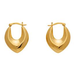 Sophie Buhai Gold Clio Hoop Earrings R21-E09-GOLD