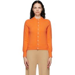 Extreme Cashmere Orange Cashmere N°140 Little Game Cardigan