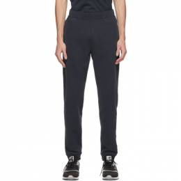 Sunspel Navy Loopback Lounge Pants MTRS1518