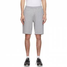 Sunspel Grey Loopback Shorts MSHR1519