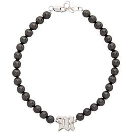 Misbhv Black Pearl Elastic Choker Necklace 120AC13
