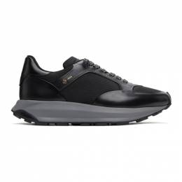 Dunhill Black Aerial Patina Sneakers DU21R1332D5