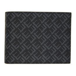 Dunhill Black Signature 8CC Billfold Wallet DU21R2300LT