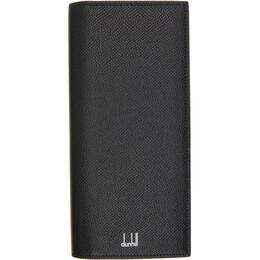Dunhill Black Cadogan Coat Wallet DU18F2100CA