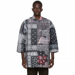 Neighborhood Black Quilt-B C Shirt 202AQNH-SHM06