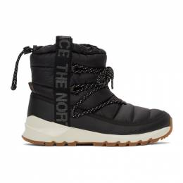 The North Face Black ThermoBall™ Lace-Up Boots NF0A4AZG