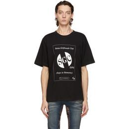 Stolen Girlfriends Club Black Live Classic T-Shirt C4-19T001BB