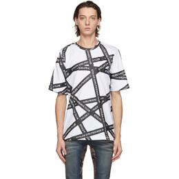 Stolen Girlfriends Club White Duct Tape Classic T-Shirt C4-19DT001WP