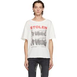 Stolen Girlfriends Club White Vintage Isolation T-Shirt C4-20T001W-E