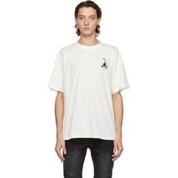 Stolen Girlfriends Club White Scopion Haze T-Shirt C4-20T001W-B