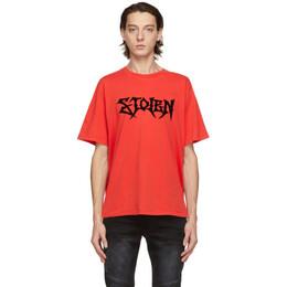 Stolen Girlfriends Club Red Pogues T-Shirt C4-20T001R-F