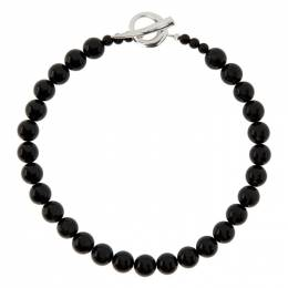 Sophie Buhai Black Onyx Everyday Necklace PC-N14-SS-ON