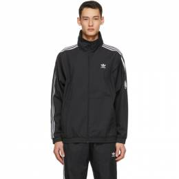 Adidas Originals Black 3D Trefoil Track Jacket GN3535