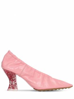 Кожаные Туфли 75mm Bottega Veneta 73II7L042-NTY1Nw2