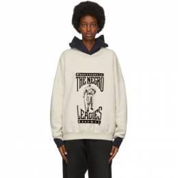 Fear Of God Beige Felted Graphic Sweatshirt FG50-024