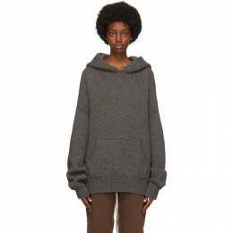 Fear Of God Grey Brushed Knit Hoodie FG20-002