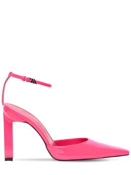 Туфли Из Лакированной Кожи 100mm The Attico 73IIAM013-MTY40