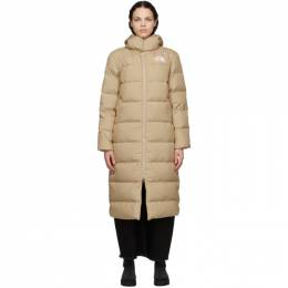 The North Face Beige Triple C Parka NF0A4R3K
