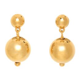 Sophie Buhai Gold Ball Drop Earrings PC-E10-GOLD