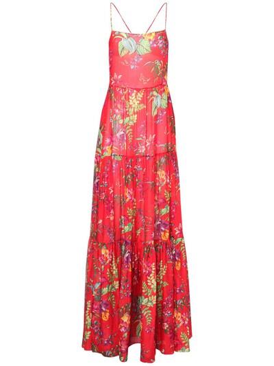 Платье Из Хлопка И Шелка Etro 73ID4M034-MDYwMA2 - 1