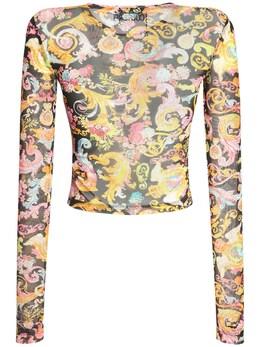 Топ С Принтом Versace Jeans Couture 73IA88012-ODk50