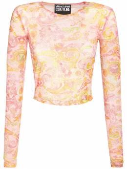 Топ С Принтом Versace Jeans Couture 73IA88012-NDAy0