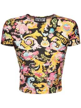 Футболка Из Джерси Стрейч Versace Jeans Couture 73IA88006-ODk50