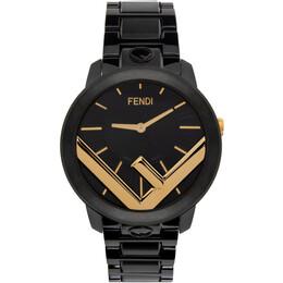 Fendi Black and Gold Run Away F is Fendi Watch F713111000