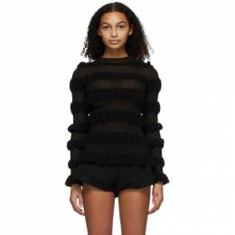 Molly Goddard Black Gigi Sweater MGPRE21-25