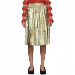 Molly Goddard Gold Midas Skirt MGPRE21-15