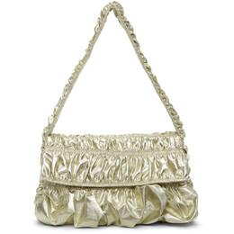 Molly Goddard Gold Ginza Baguette Bag MGPRE21-22