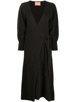 Andamane платье с запахом и длинным рукавами 2000W