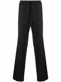Marcelo Burlon County Of Milan спортивные брюки прямого кроя с логотипом CMCA152F20JER0011010