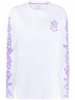 Koche футболка с длинными рукавами и монограммой EPK SKZGU0001S23949