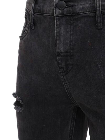 Pollock 1990 Print Destroyed Denim Jeans The People Vs 73IX94008-UE9MTE9DSyBCTEFDSw2 - 3