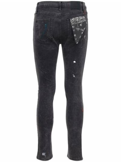 Pollock 1990 Print Destroyed Denim Jeans The People Vs 73IX94008-UE9MTE9DSyBCTEFDSw2 - 5