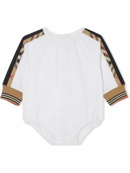 Burberry Kids боди в клетку 8031800