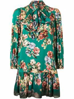 Alice + Olivia платье мини с цветочным принтом CC009P23502