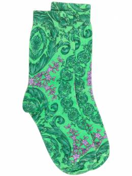 Versace носки с принтом ICZD0021F00610