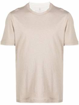 Brunello Cucinelli многослойная футболка M0T617427