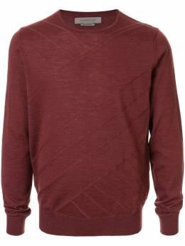 Corneliani свитер тонкой вязки с полосками 84M5099825105032