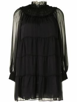 Alice + Olivia ярусное платье мини CC009A05516